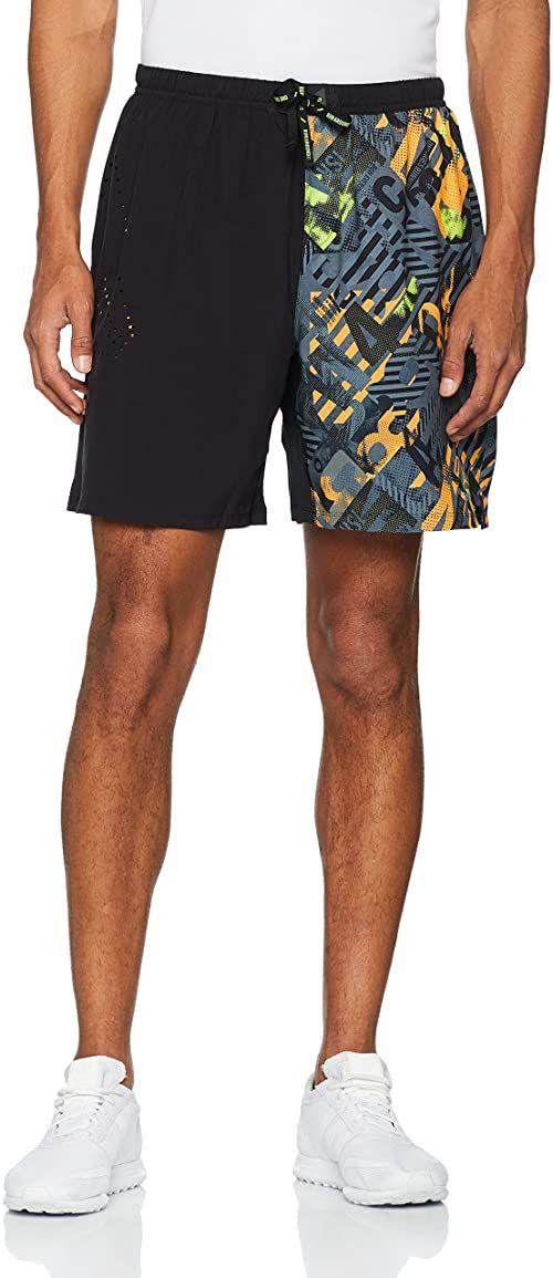 Reebok męskie OSR AC markowe szorty WG, czarne/czarne, 2 x duże