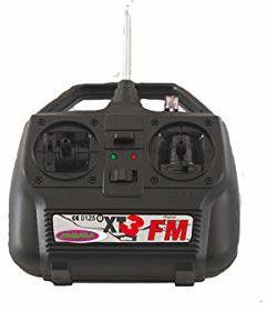 Jamara 60316 sterowanie radiowe XT3-Fm 27 Mhz W. 1 serwo, wielokolorowe