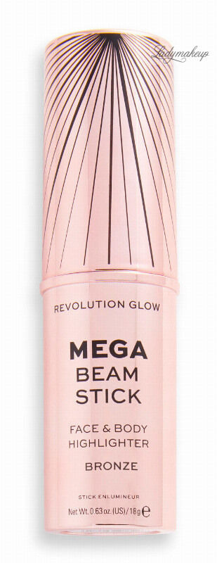 MAKEUP REVOLUTION - MEGA BEAM STICK - FACE & BODY HIGHLIGHTER - Rozświetlacz do twarzy i ciała w sztyfcie - Bronze