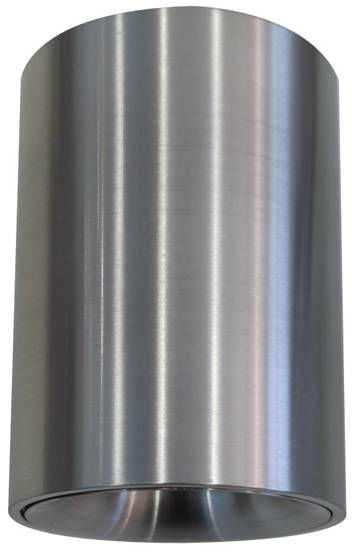 Oprawa sufitowa spot tuba natynkowa KOGEN śr. 8cm aluminium srebrny