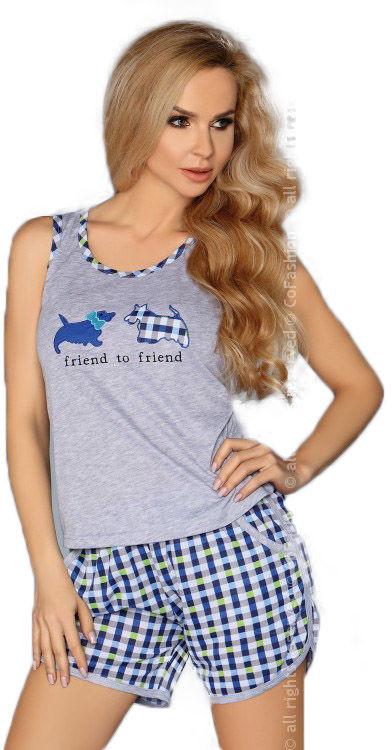 MODEL 720 BLUE piżama