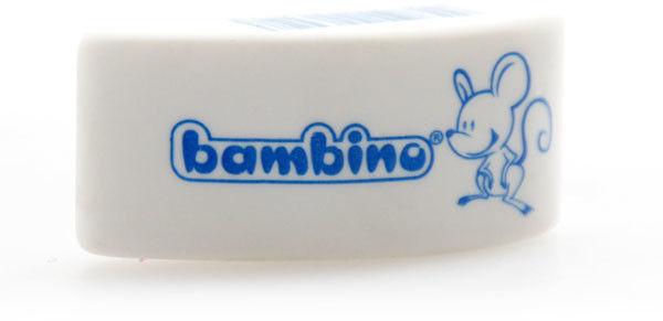 Gumka do mazania BAMBINO myszka biała 1szt.