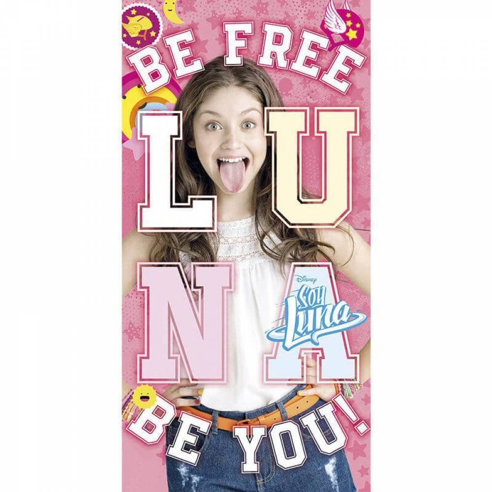 Kids Licensing  wd18145  ręcznik plażowy  Soy Illustrated O Soy Luna  Be You