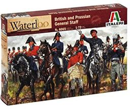 Italeri 8001283060653 British & Prussian General Staff, figurki