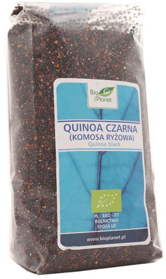 Quinoa czarna - Komosa ryżowa BIO - Bio Planet - 500g