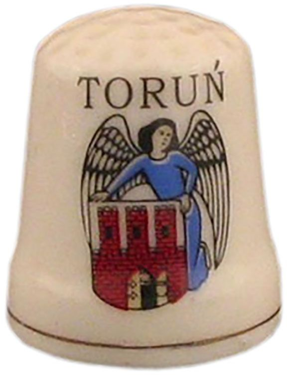 Naparstek ceramiczny - Toruń