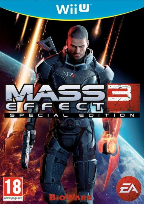 Gra Mass Effect 3 (WiiU)