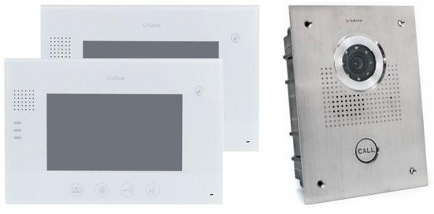 Wideodomofon vidos 2xm670w/s551 - szybka dostawa lub możliwość odbioru w 39 miastach