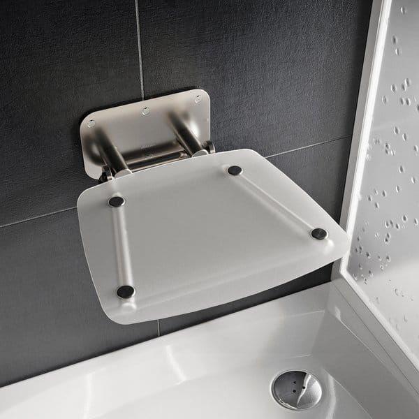 Ravak siedzisko prysznicowe składane Ovo B II clear B8F0000051