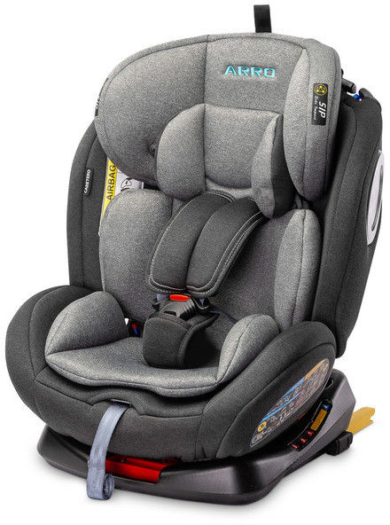Caretero Arro Isofix Fotelik samochodowy 0-36 kg Grey