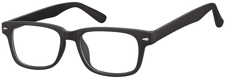 Okulary Zerówki klasyczne oprawki Sunoptic CP156 czarne