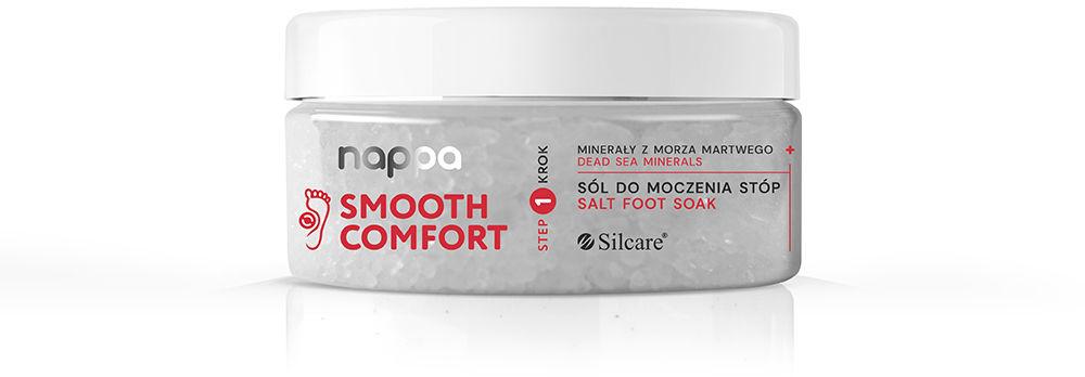 Sól do moczenia stóp nappa Smooth Comfort minerały z Morza Martwego 300 g