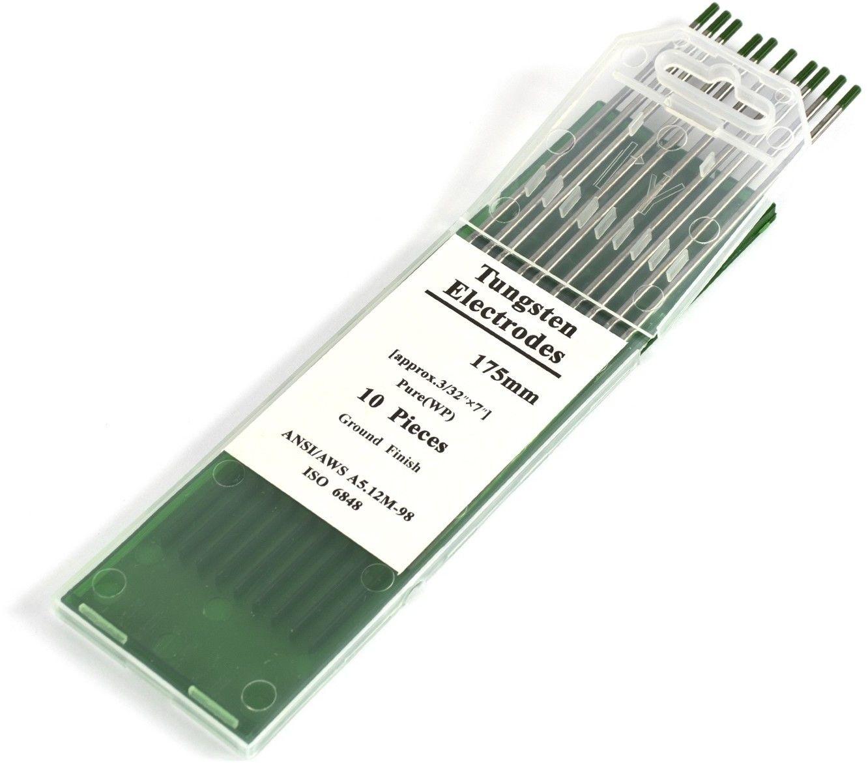 Elektrody wolframowe WP zielone 2,0 mm x 175 mm