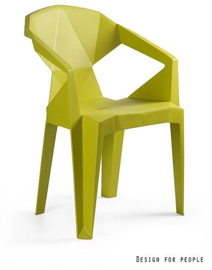 UNIQUE Krzesło MUZE MUSTARD