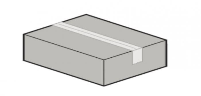 Zestaw montażowy do bram IsoMatic zawierający rolki, zawiasy, obejmy rolek, śruby i kątowniki mocujące itp..