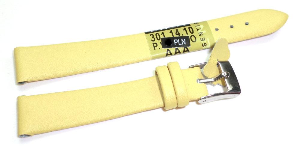 Skórzany pasek do zegarka 14 mm Diloy 301.14.10