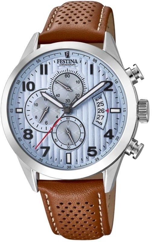 Zegarek Festina F20271-4 Chronograph - CENA DO NEGOCJACJI - DOSTAWA DHL GRATIS, KUPUJ BEZ RYZYKA - 100 dni na zwrot, możliwość wygrawerowania dowolnego tekstu.