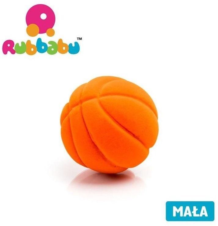 Rubbabu - Sensoryczna Mała Piłeczka Pomarańczowa