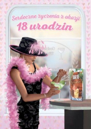 Karnet na 18 urodziny Dama z Martini