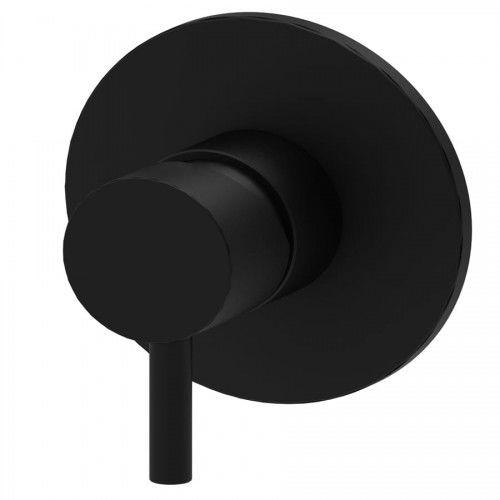 Bateria natryskowa podtynkowa Paffoni Light, czarny mat
