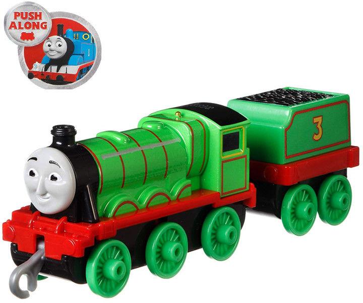 Fisher-Price - Track Master Henry lokomotywka z wagonikiem Popchnij i jedź GDJ55