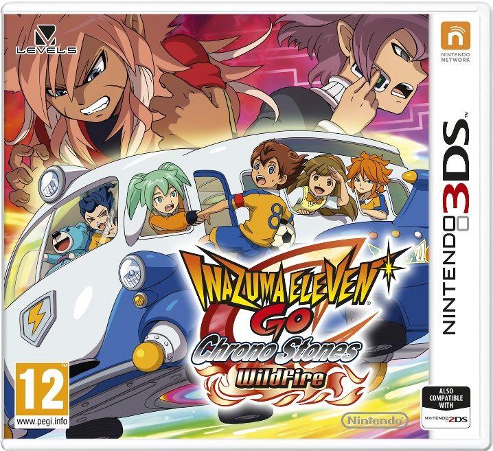 Gra Inazuma Eleven GO: Wildfire (3DS)
