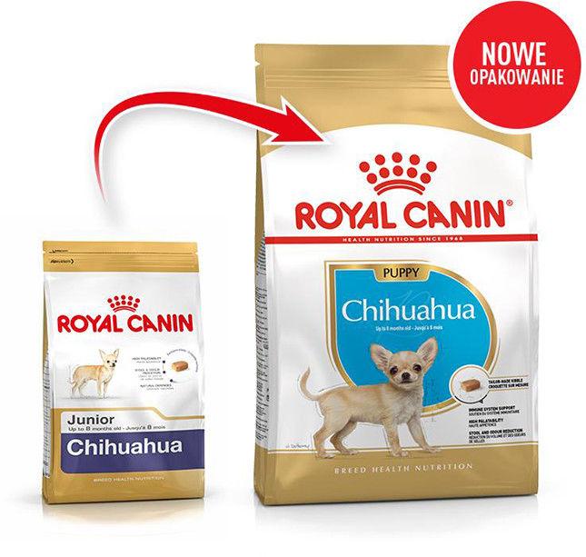 ROYAL CANIN Chihuahua Puppy 1,5kg karma sucha dla szczeniąt do 10 miesiąca, rasy chihuahua