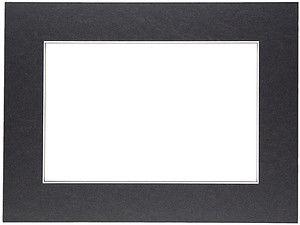 Passepartout 15x21 cm (10x15) czarne