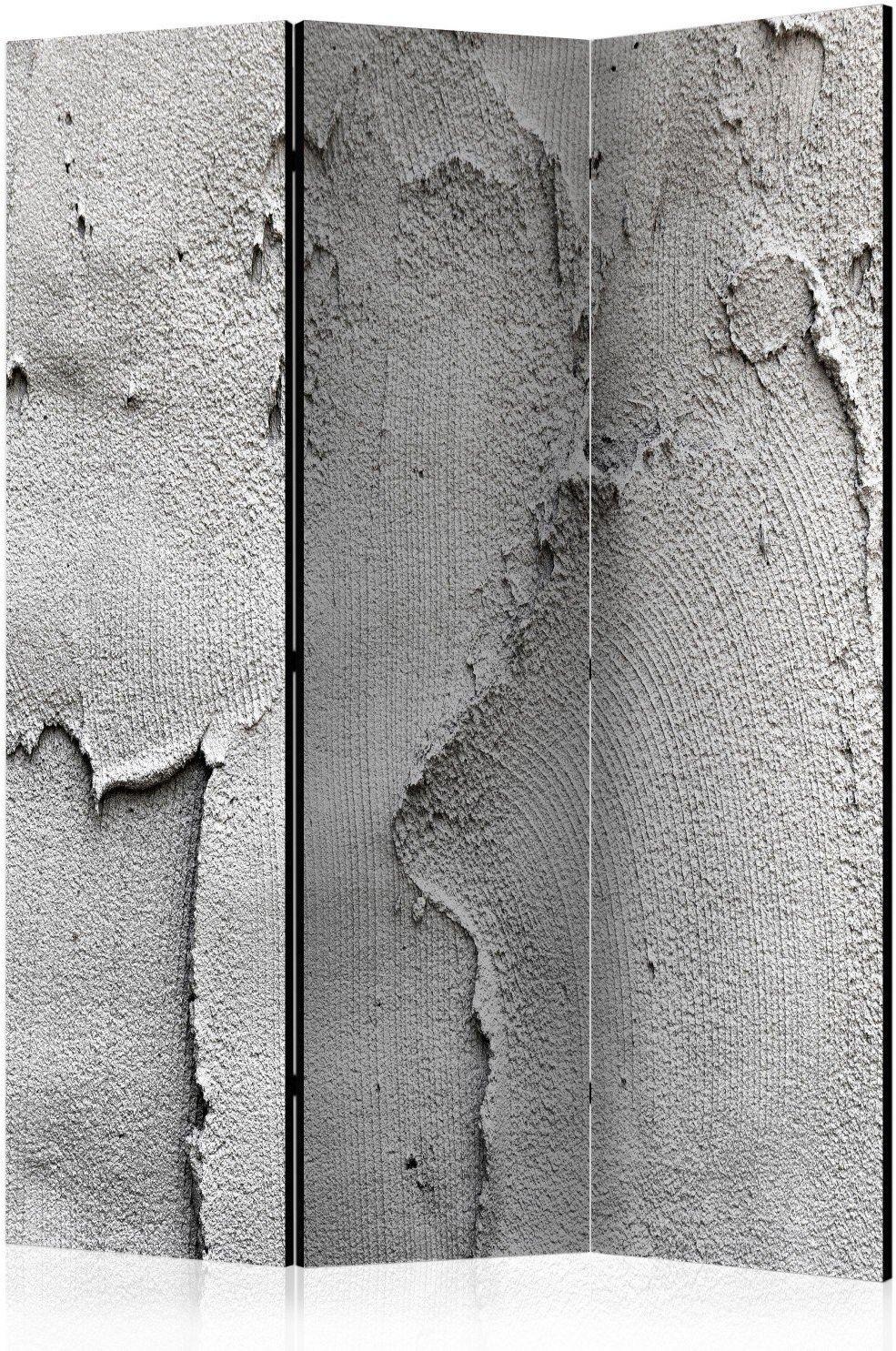 Parawan 3-częściowy - betonowa nicość [room dividers]