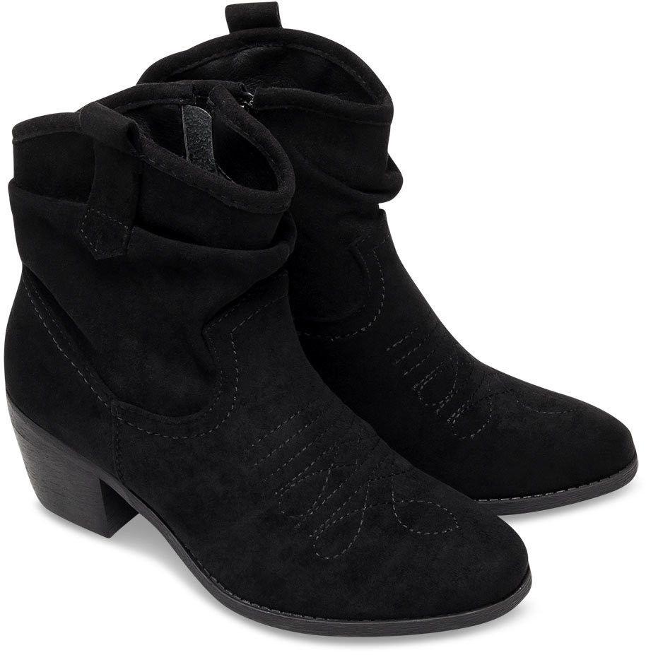 Wegańskie Kowbojki damskie Super Mode 9166 Czarne