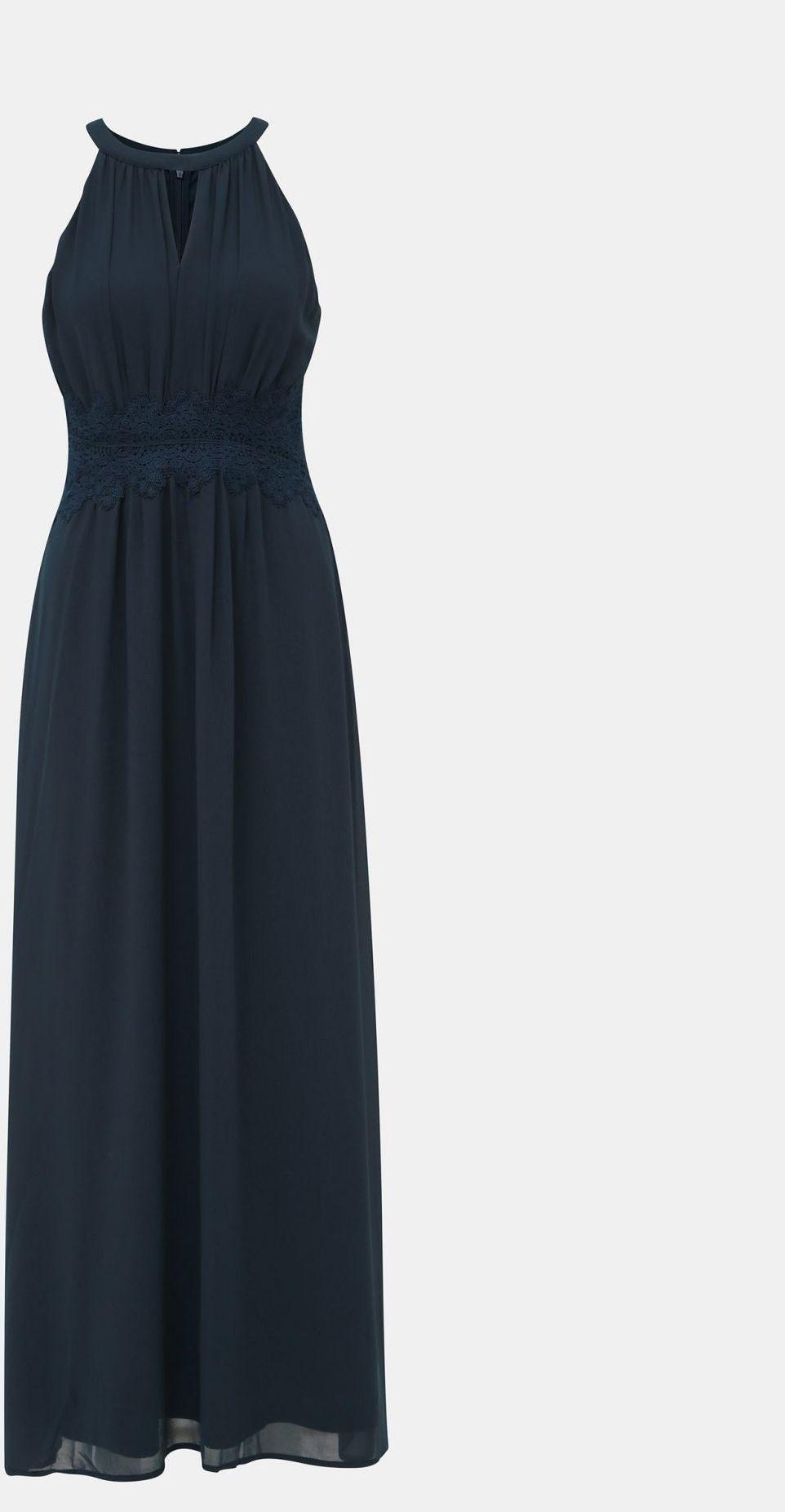 Vila niebieski maxi sukienka