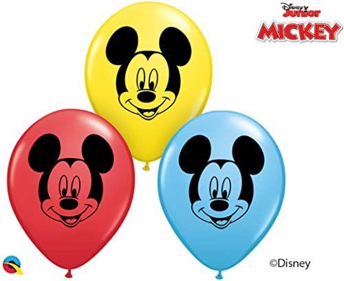 Qualatex 45336 balony Disney Mickey i przyjaciół, 12 cm