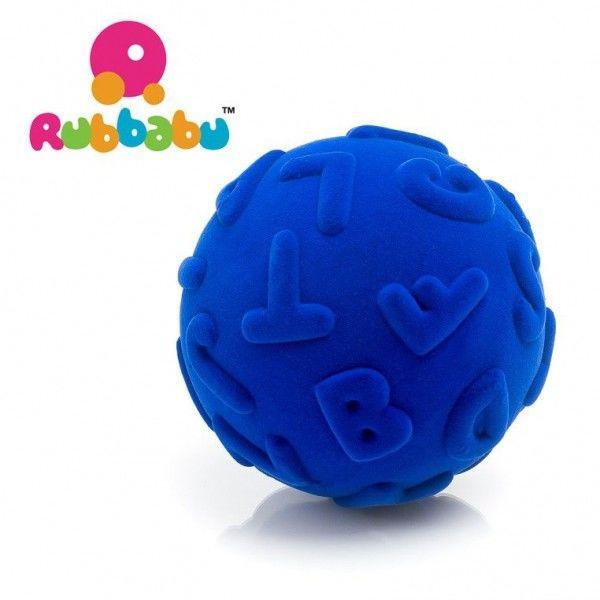 Rubbabu - Sensoryczna Piłeczka Edukacyjna Niebieska