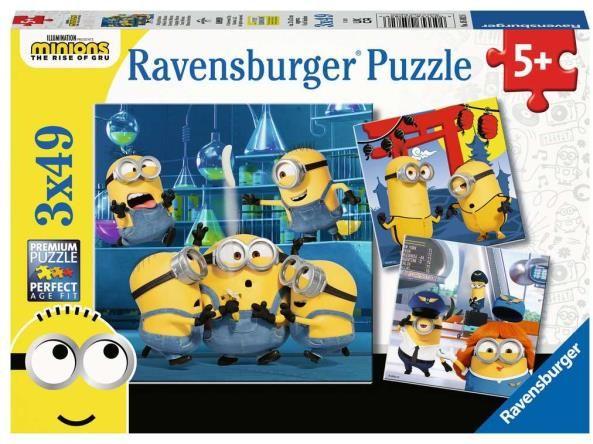 Puzzle 3x49el Minionki 50826 RAVENSBURGER p8 (RAV 050826)