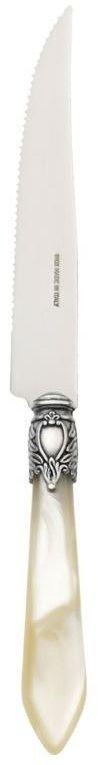 Casa bugatti - oxford nóż do steków - kość słoniowa
