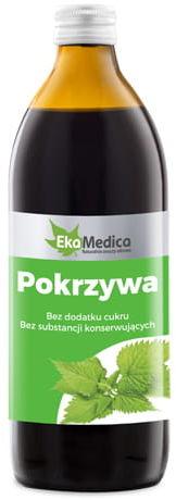 Sok z Pokrzywy 500ml - EkaMedica