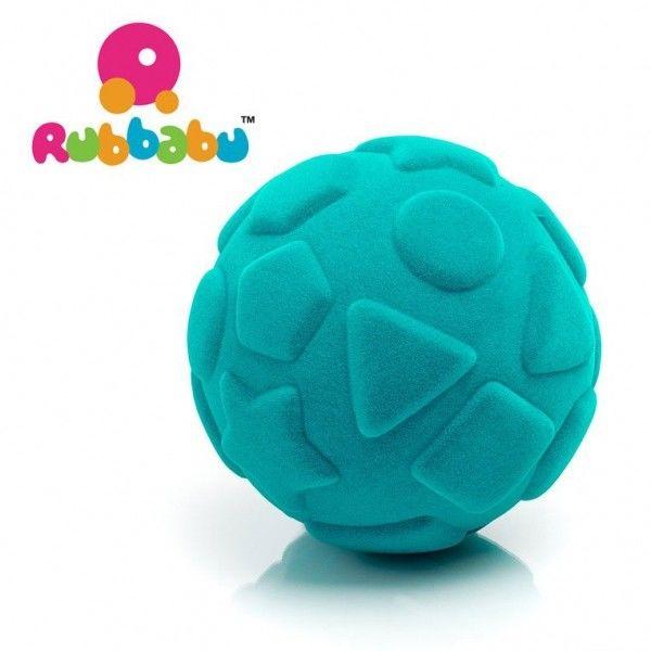 Rubbabu - Sensoryczna Piłeczka Edukacyjna Turkusowa