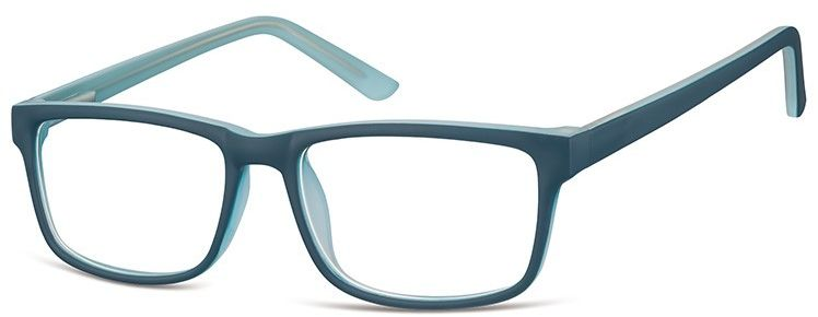 Okulary Zerówki oprawki Sunoptic CP157E morskie