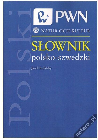 Słownik polsko-szwedzki Jacek Kubitsky PWN