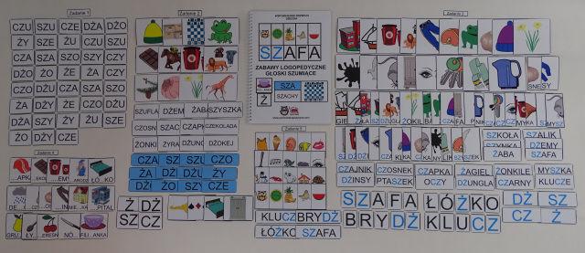 Zabawy logopedyczne - głoski szumiące