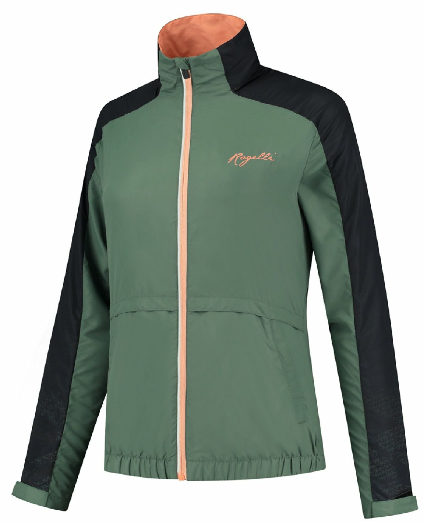 Rogelli kurtka damska do biegania SNAKE, Khaki, ROG351111 Rozmiar: XL,ROG351111.XS