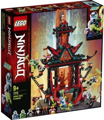 Klocki Ninjago Imperialna Świątynia szaleństwa