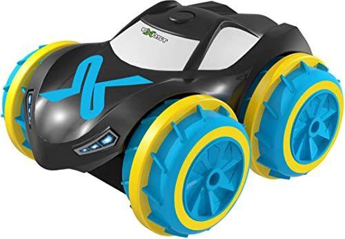 20203 Exost  Aquacyclone  zdalnie sterowany samochód  100% pojazd amfibiczny  porusza się zarówno na podłodze, jak i w wodzie  dostępny w 2 kolorach, Echelle 1/34