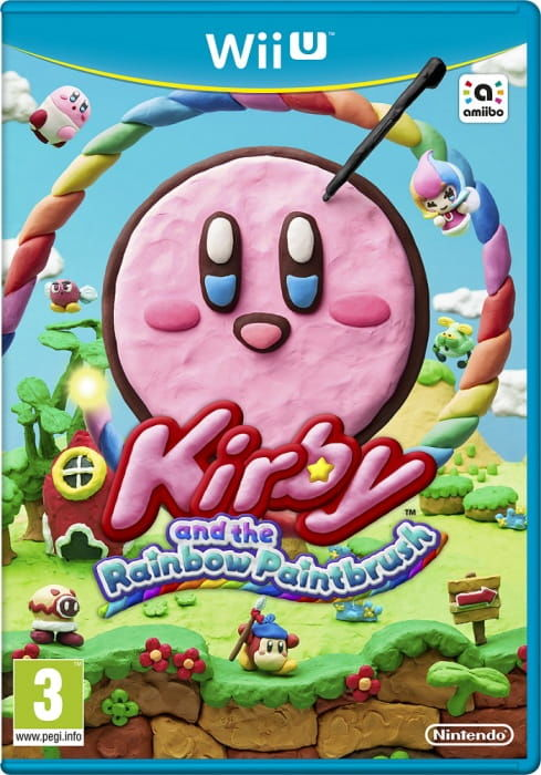 Gra Kirby and Rainbow Paint Brush (WiiU)