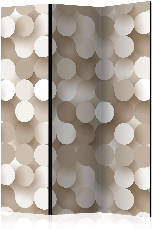 Parawan 3-częściowy - złota sieć [room dividers]