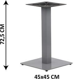 Podstawa stolika SH-5002-5/A, 45x45 cm (stelaż stolika), kolor alu