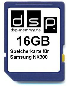 Karta pamięci 16 GB do Samsung NX300