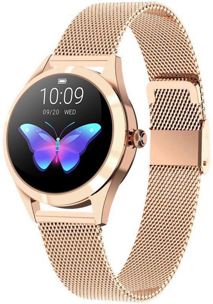 Zegarek Damski RUBICON SMARTWATCH RNAE37 Różowe złoto