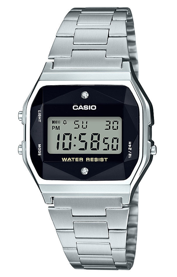 Zegarek Casio Retro Diamond Limited A158WEAD-1EF