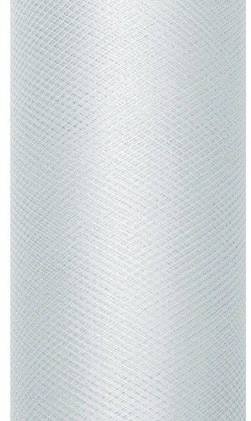 Tiul dekoracyjny szary 80cm x 9m 1 rolka TIU80-091